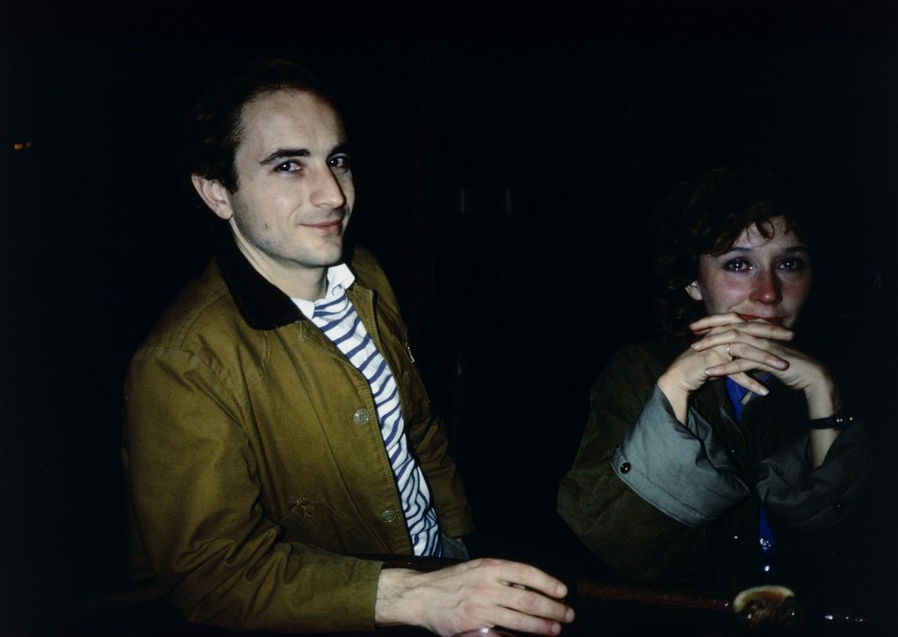 Дэвид и Бутч в районе Тин-Пан-Алли, Нью-Йорк, 1981. Автор Нан Голдин