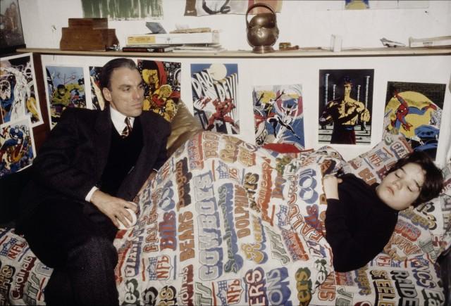 Макс и Ричард, Нью-Йорк, 1983. Автор Нан Голдин