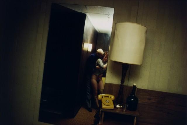 Нан и Дики в мотеле, Нью-Джерси, 1980. Автор Нан Голдин