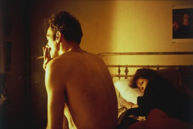 Нан и Брайан в постели, Нью-Йорк, 1983. Автор Нан Голдин