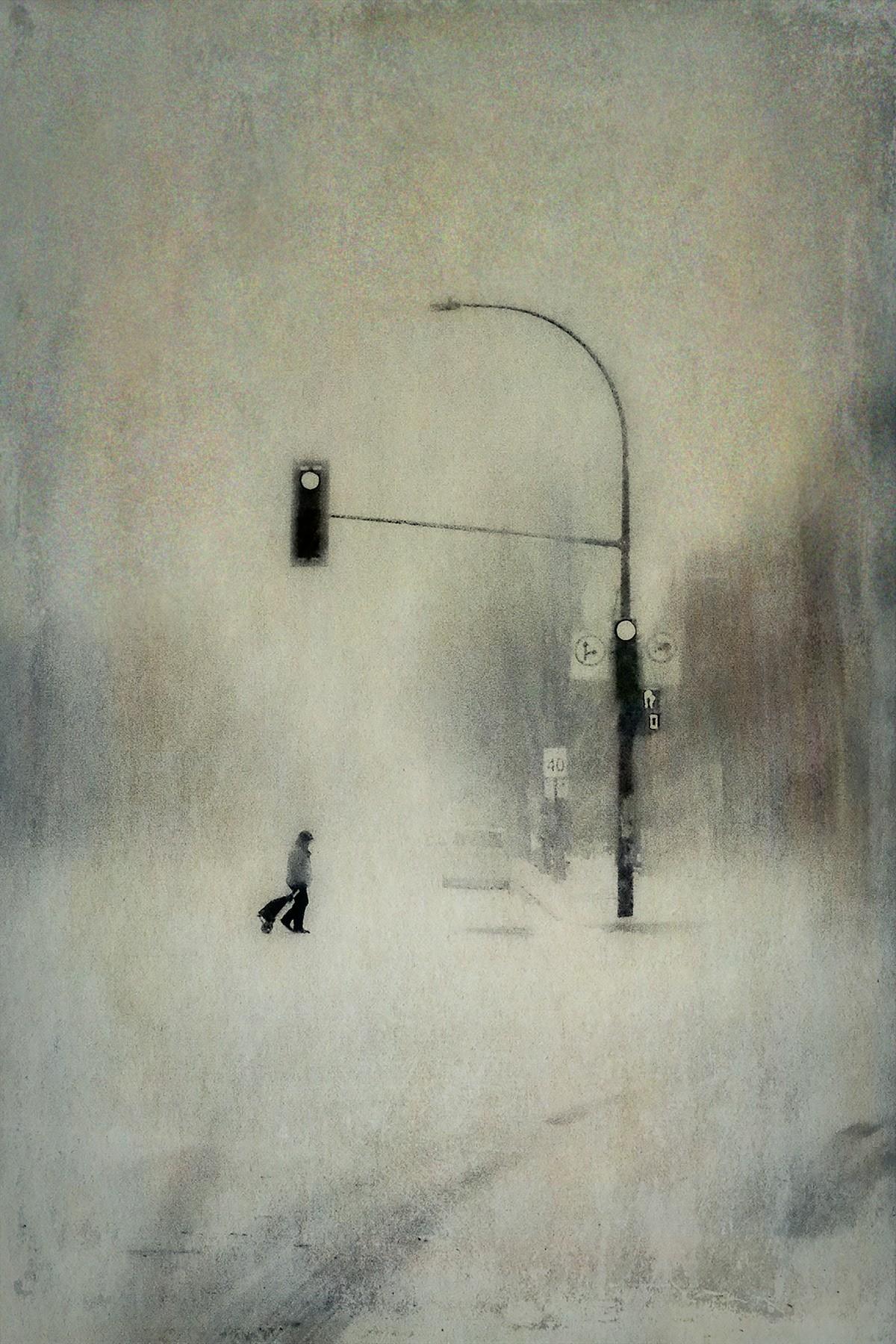 Метель. Автор Даниэль Кастонгуэй