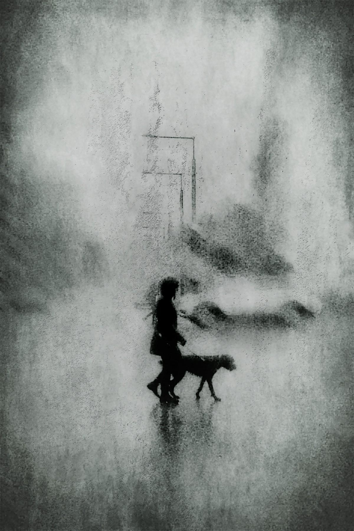 Зимняя дымка. Автор Даниэль Кастонгуэй