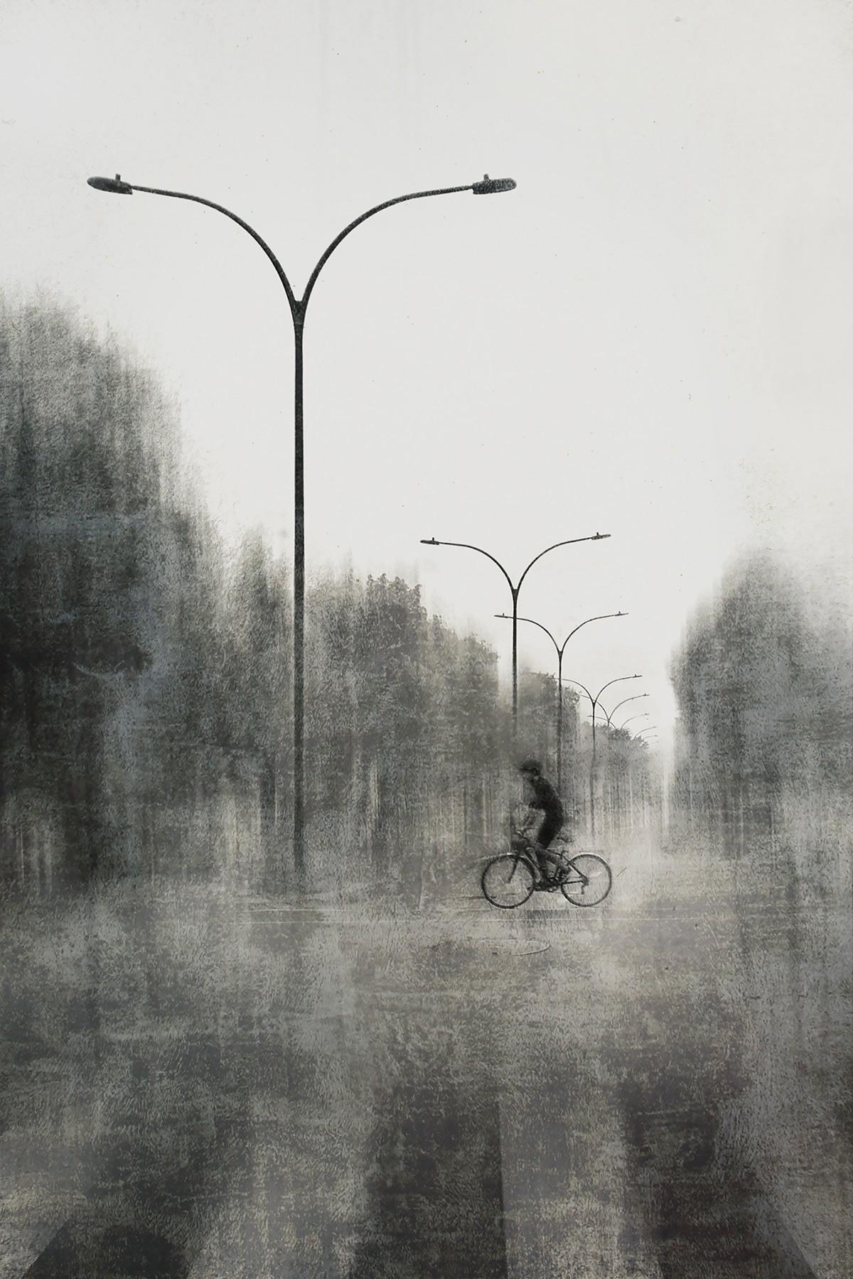 Уличные фонари. Автор Даниэль Кастонгуэй