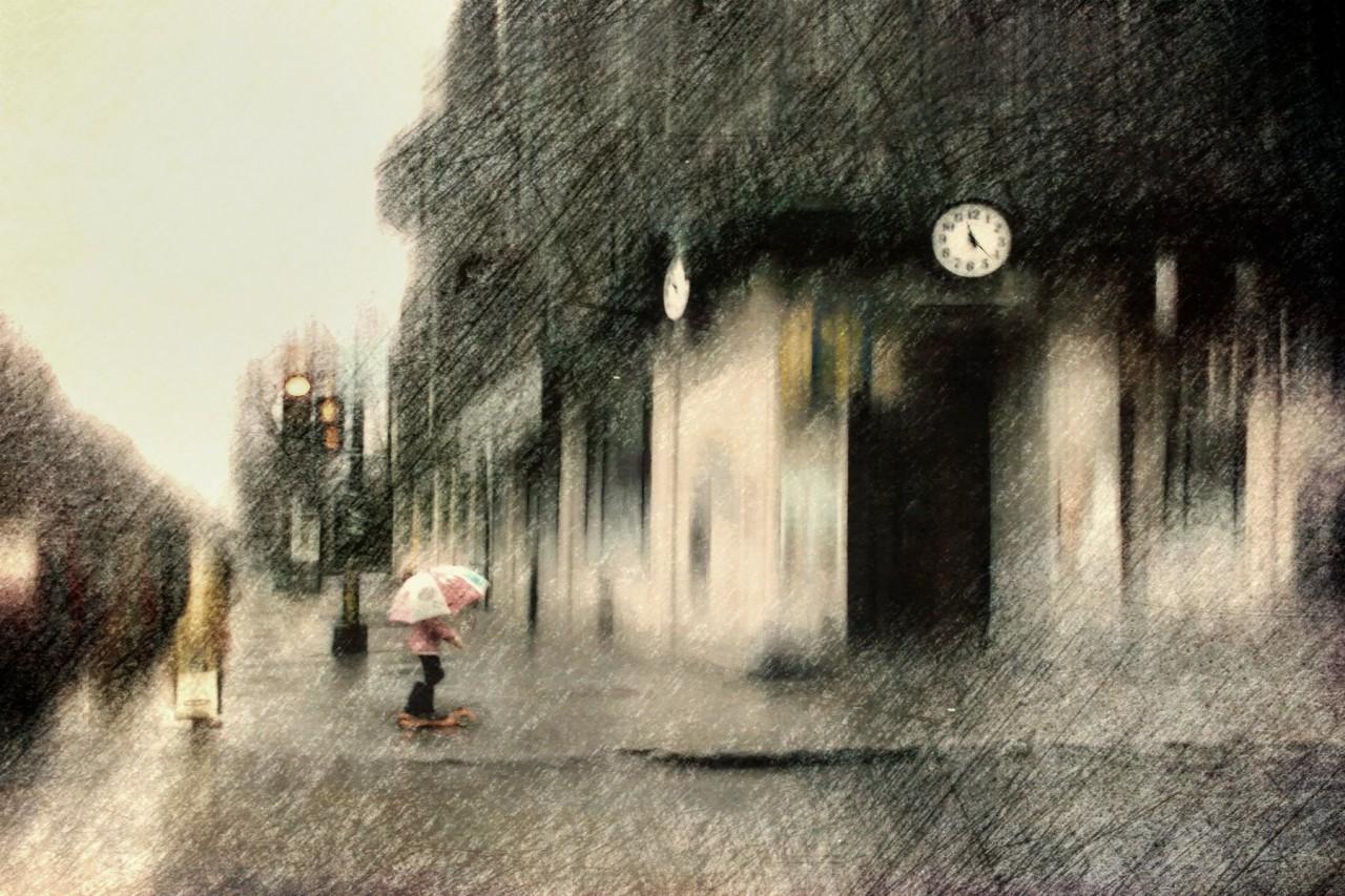 Часы. Автор Даниэль Кастонгуэй