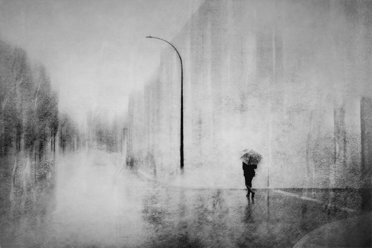 В центре города. Автор Даниэль Кастонгуэй