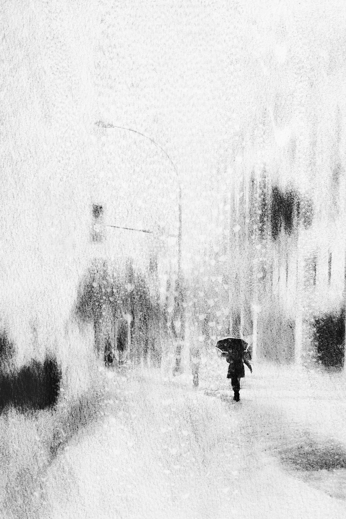 Зима. Автор Даниэль Кастонгуэй