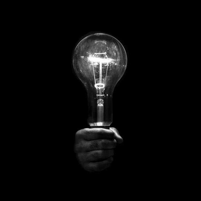«Да будет свет». Автор Бенуа Корти