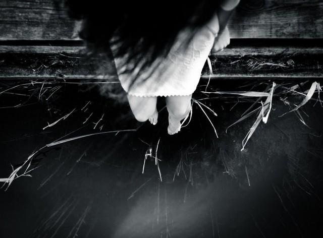 «На краю». Автор Бенуа Корти