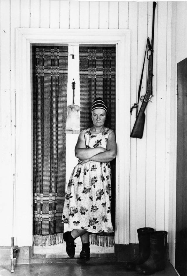 Эльза и ружьё на стене, Вильхельмина, 1961. Автор Суне Юнссон