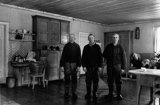 Братья Йоханссон на своей кухне, 1962. Автор Суне Юнссон