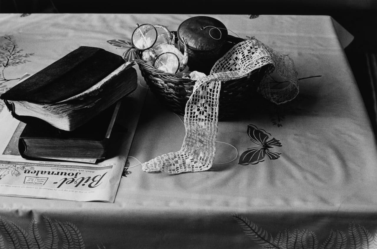 В доме мисс Ханны Гласс, Робертсфорс, 1962. Автор Суне Юнссон
