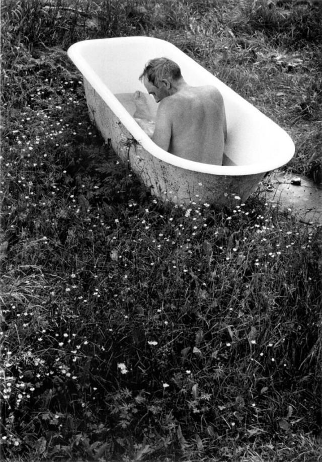 Ванна Густава Карлссона, Смоланд, 1969. Автор Суне Юнссон