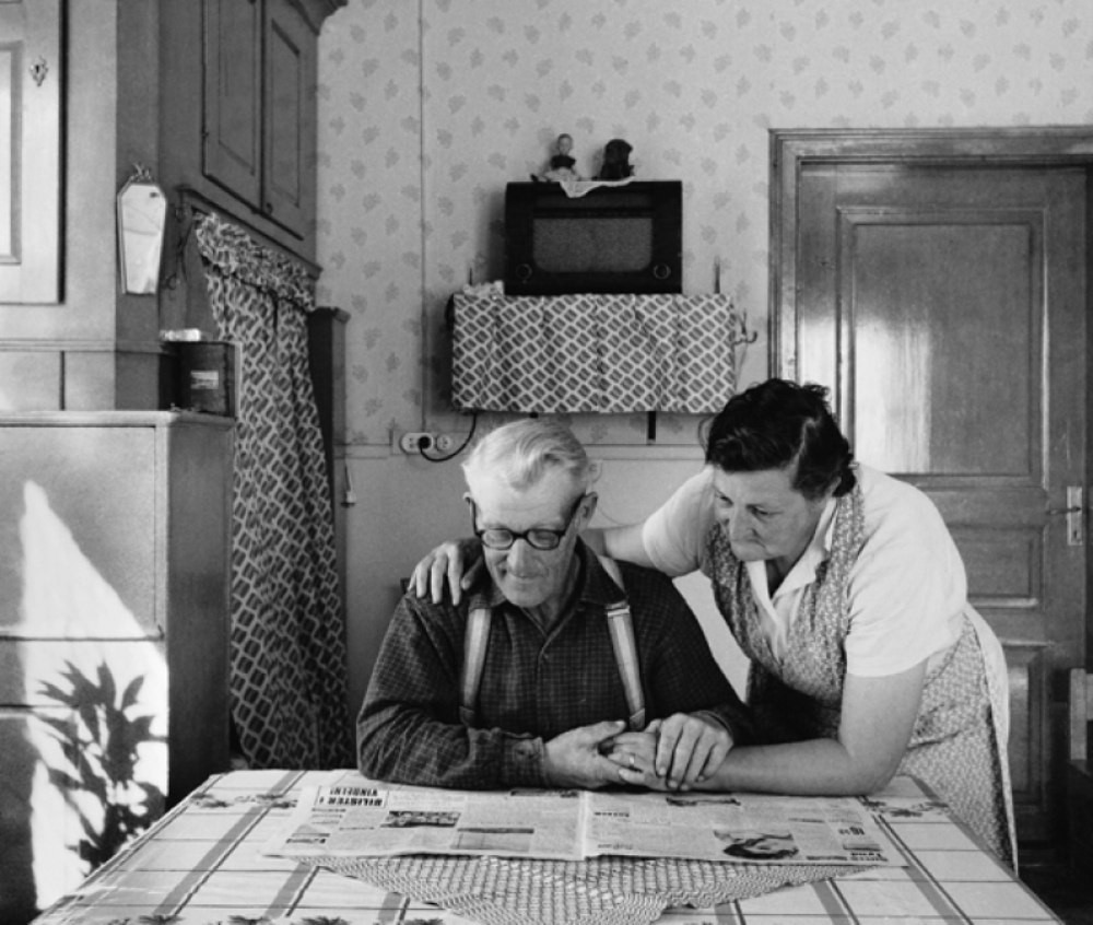 Хельмер и Берта, Нордмалинг, 1960. Автор Суне Юнссон