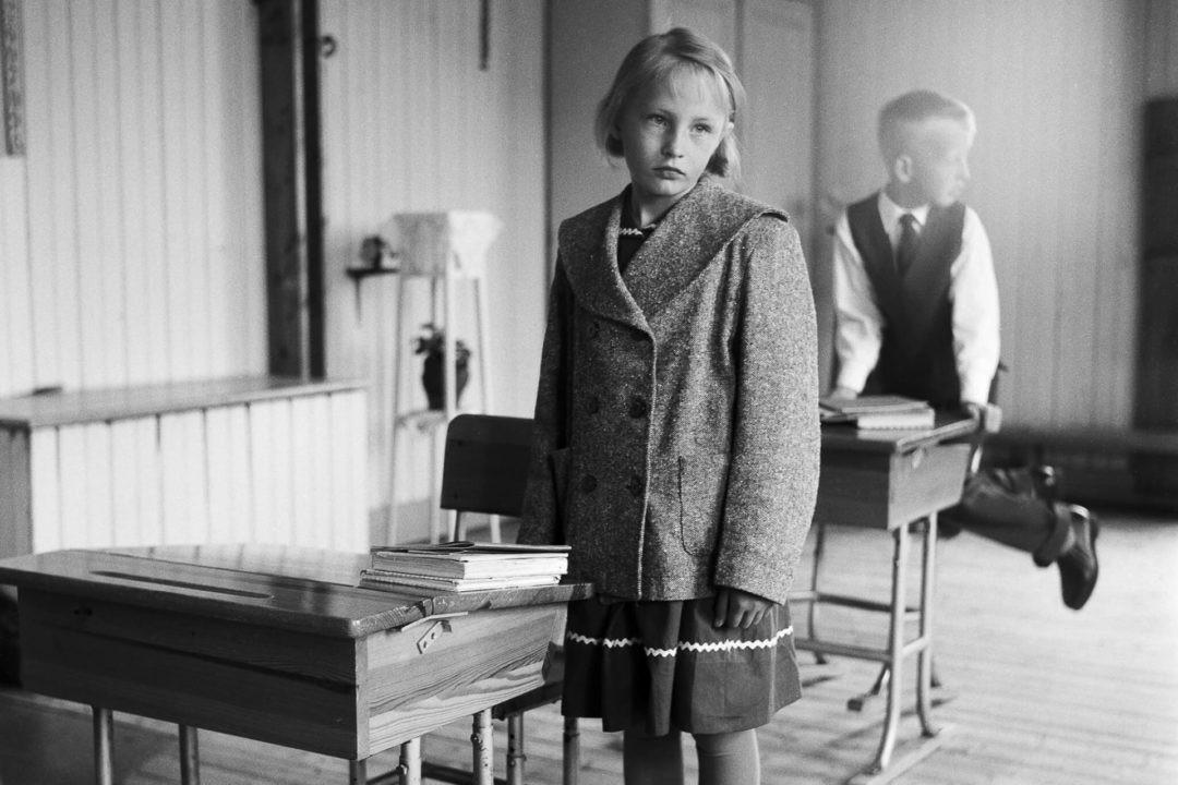 Марита Эдлунд, остров Хольмён, 1956. Автор Суне Юнссон