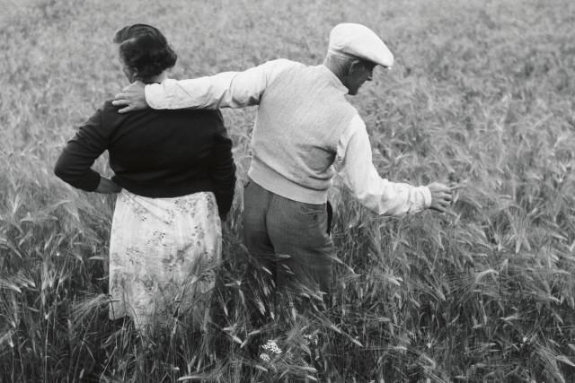 Хельмер и Берта Йонссон, Нордмалинг, 1956. Автор Суне Юнссон