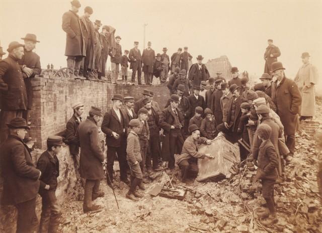 Вскрытие сейфа, Бисби, примерно 1880 год