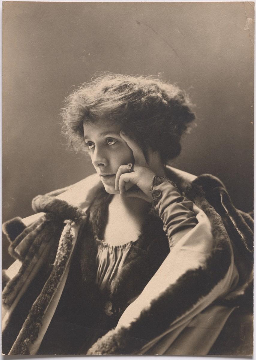Джулия Марлоу, 1900 год. Студия Pach Brothers
