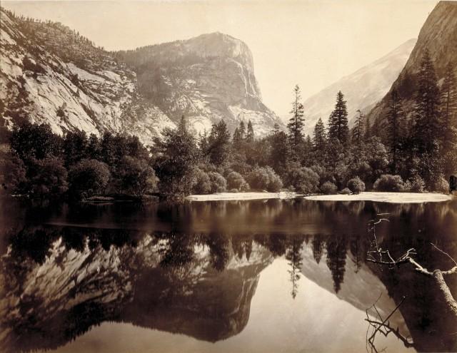 Озеро в Йосемитской долине, Калифорния, 1865 год. Автор Чарльз Линдер Уид