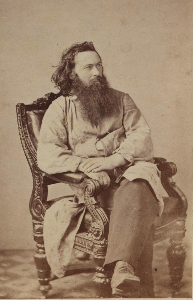Портрет шотландского фотографа Александра Гарднера, 1863 год