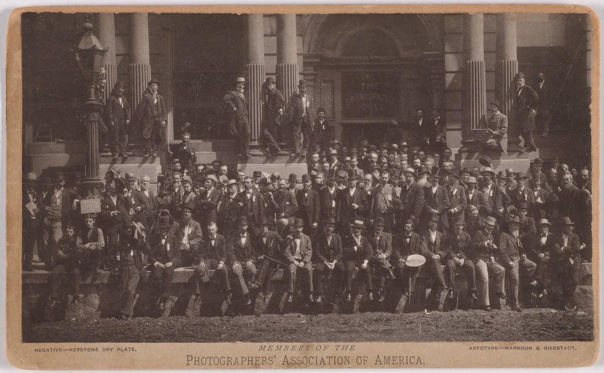 Члены Американской ассоциации фотографов, 1880 год