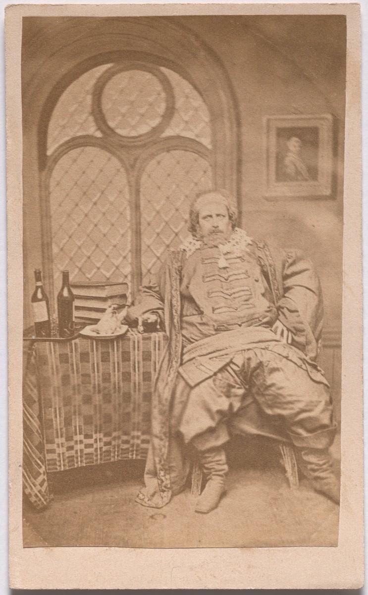 «Судья» из серии «Семь возрастов человека» по Шекспиру, ок. 1860. Автор студия братьев Мид