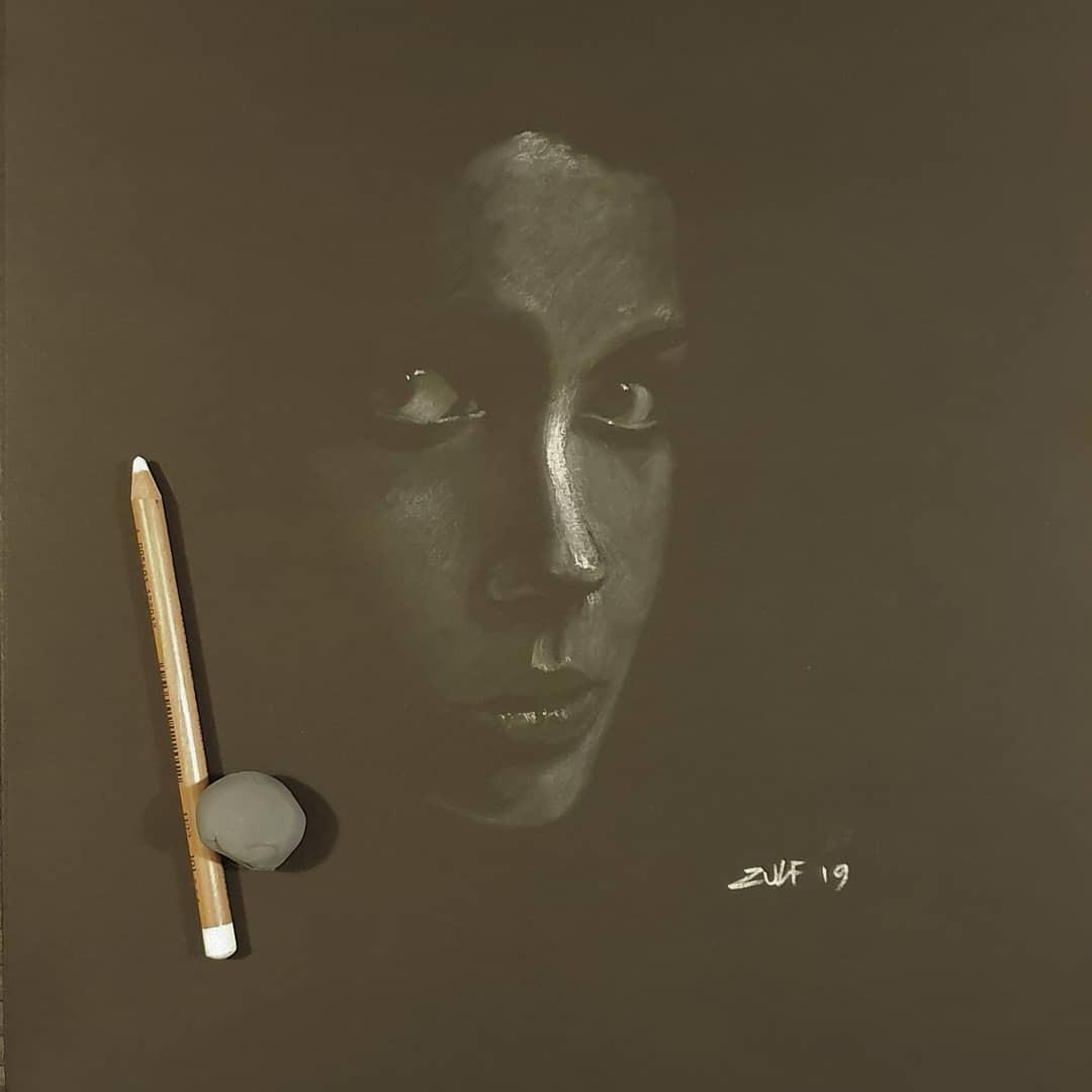 Серия рисунков «Из темноты». Автор Зульф (25)