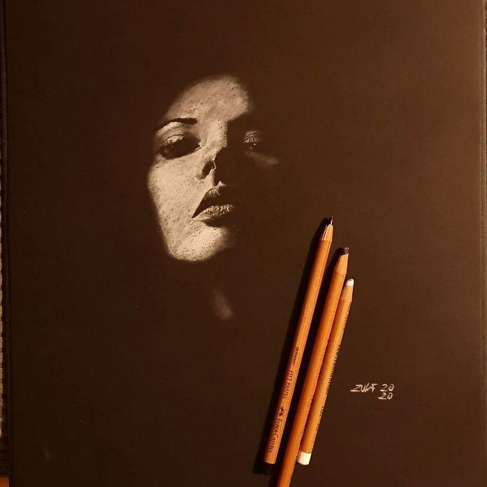 Серия рисунков «Из темноты». Автор Зульф (24)