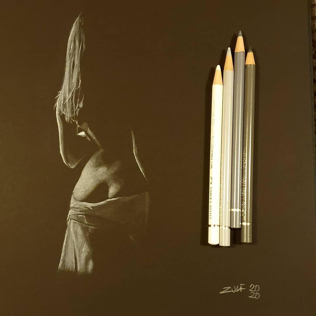 Серия рисунков «Из темноты». Автор Зульф (22)
