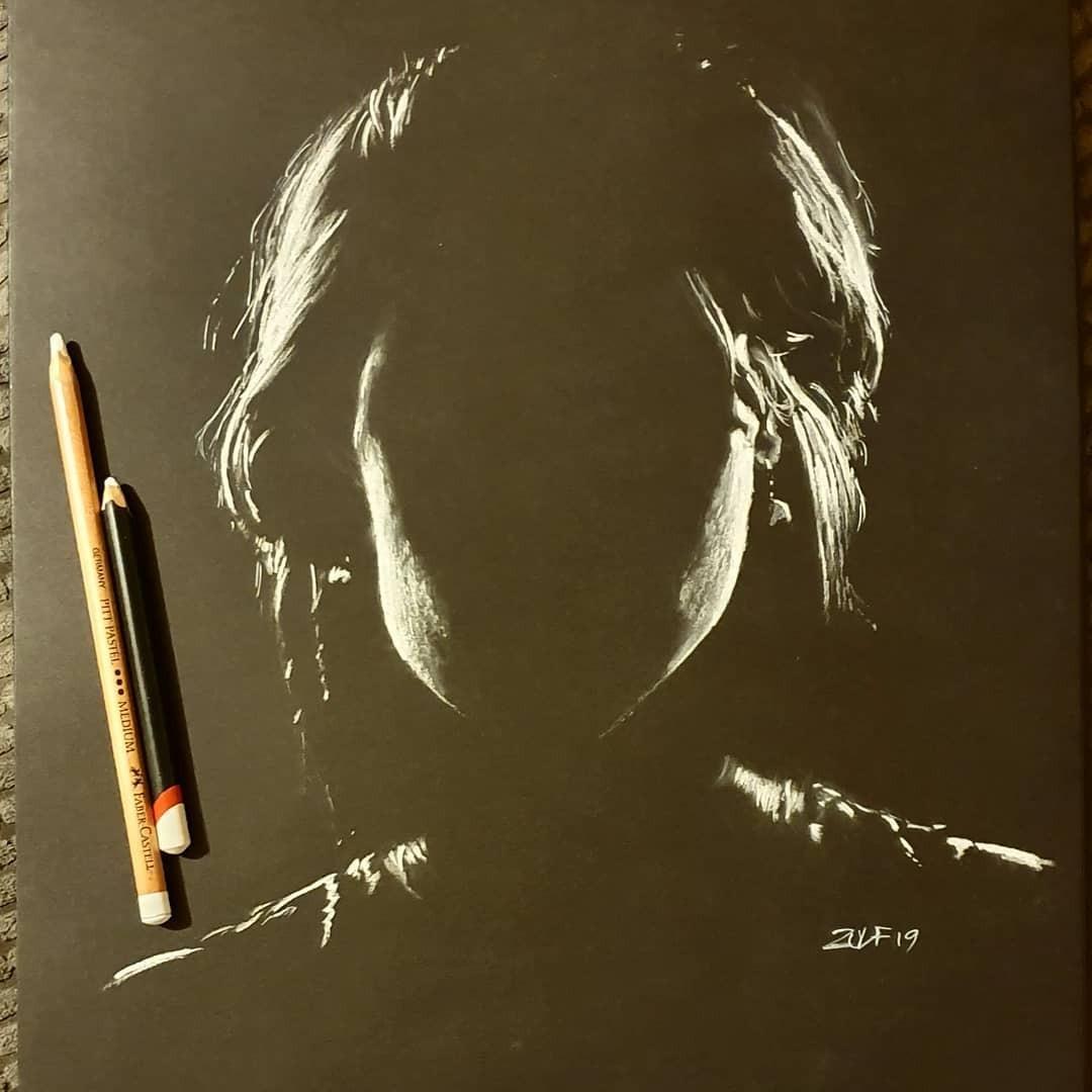 Серия рисунков «Из темноты». Автор Зульф (12)