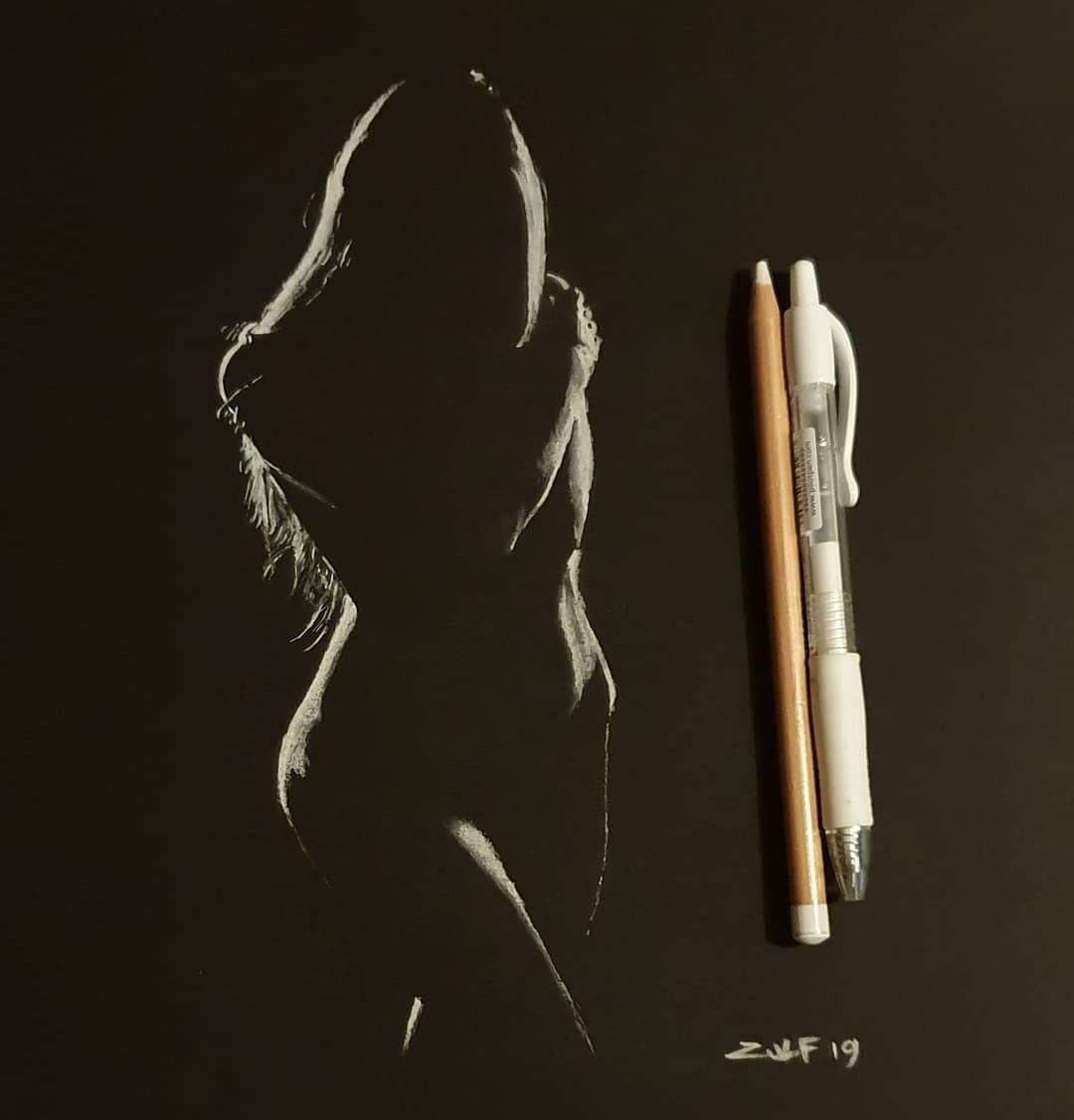 Серия рисунков «Из темноты». Автор Зульф (14)