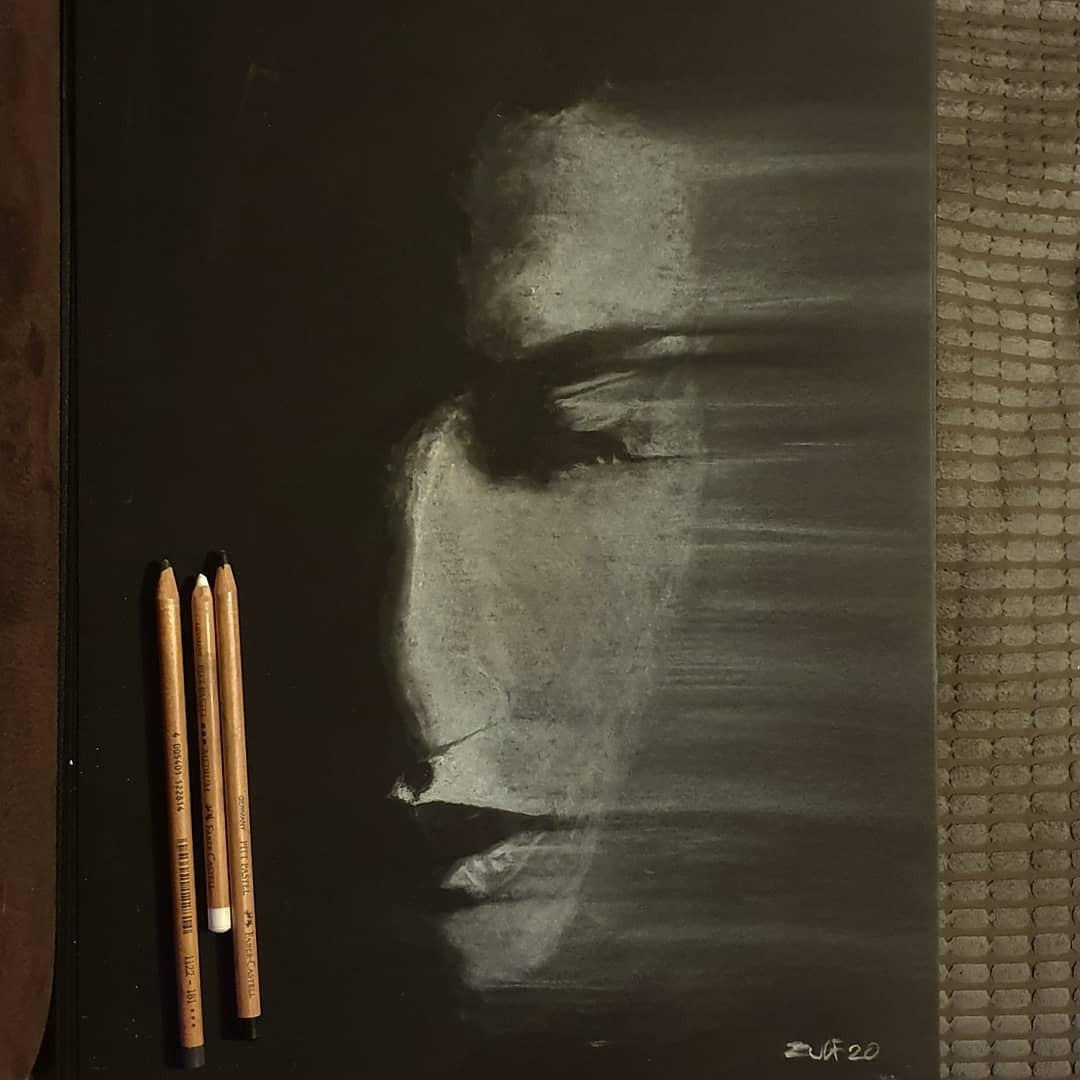 Серия рисунков «Из темноты». Автор Зульф (15)