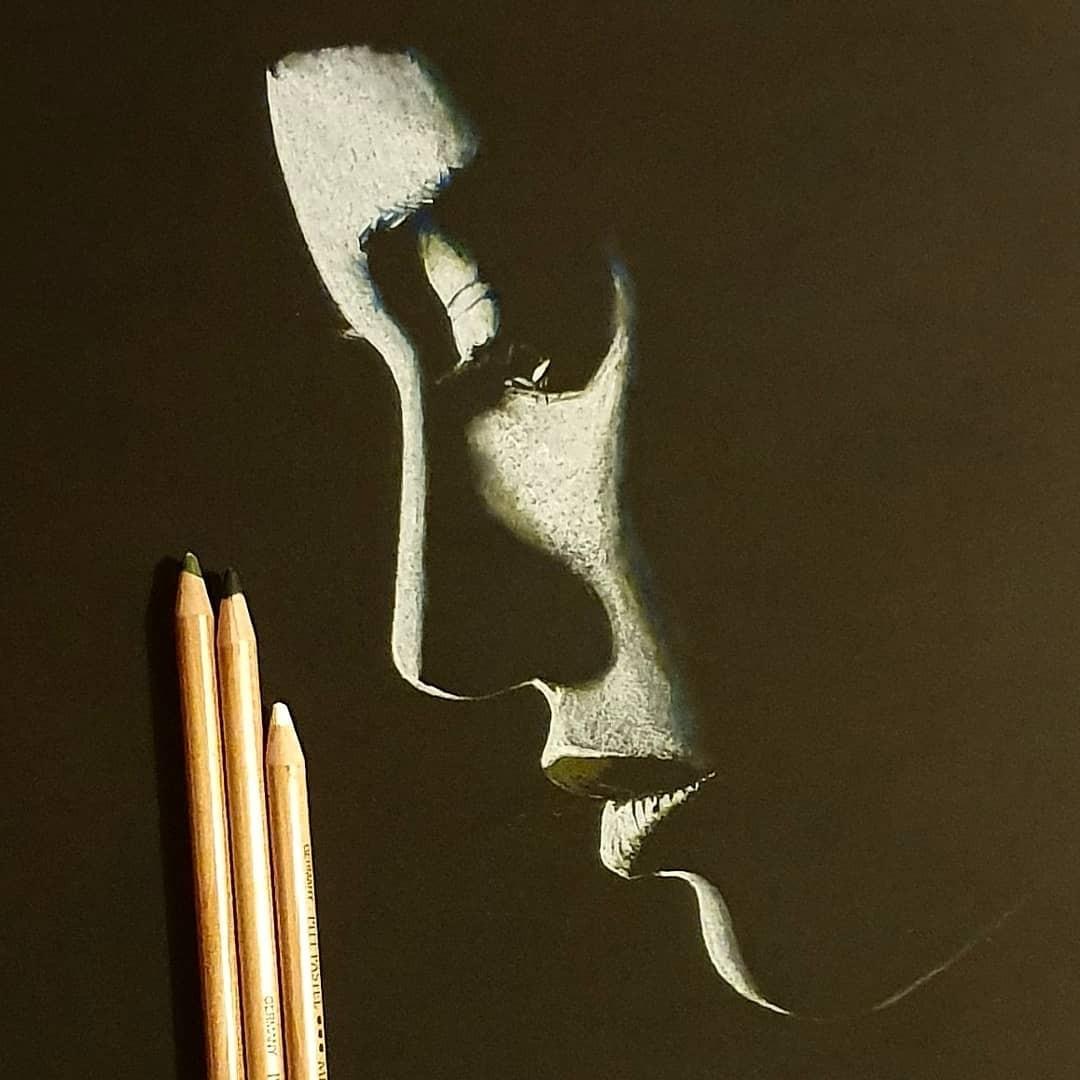 Серия рисунков «Из темноты». Автор Зульф (18)