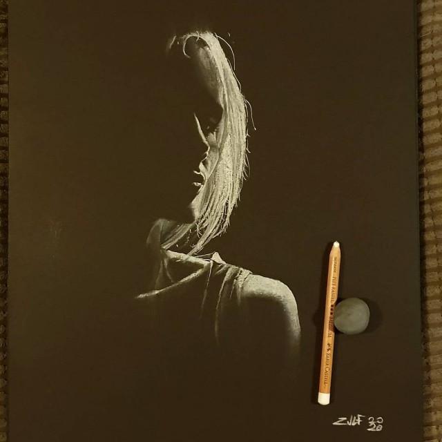 Серия рисунков «Из темноты». Автор Зульф (19)