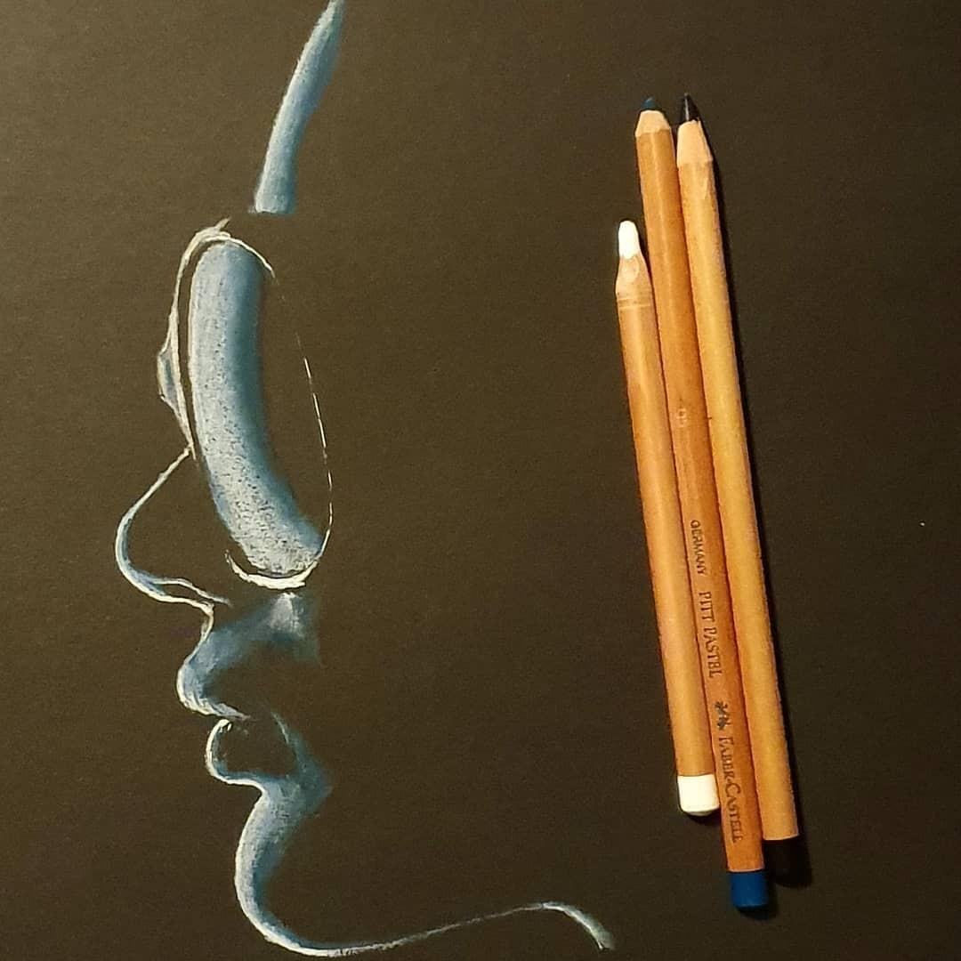 Серия рисунков «Из темноты». Автор Зульф (20)