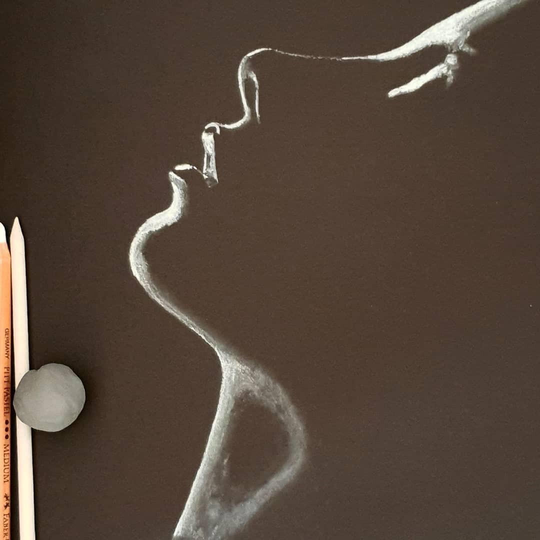 Серия рисунков «Из темноты». Автор Зульф (21)
