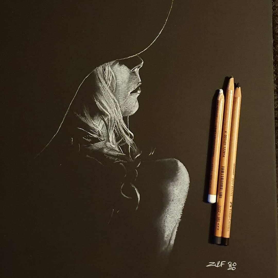 Серия рисунков «Из темноты». Автор Зульф (6)
