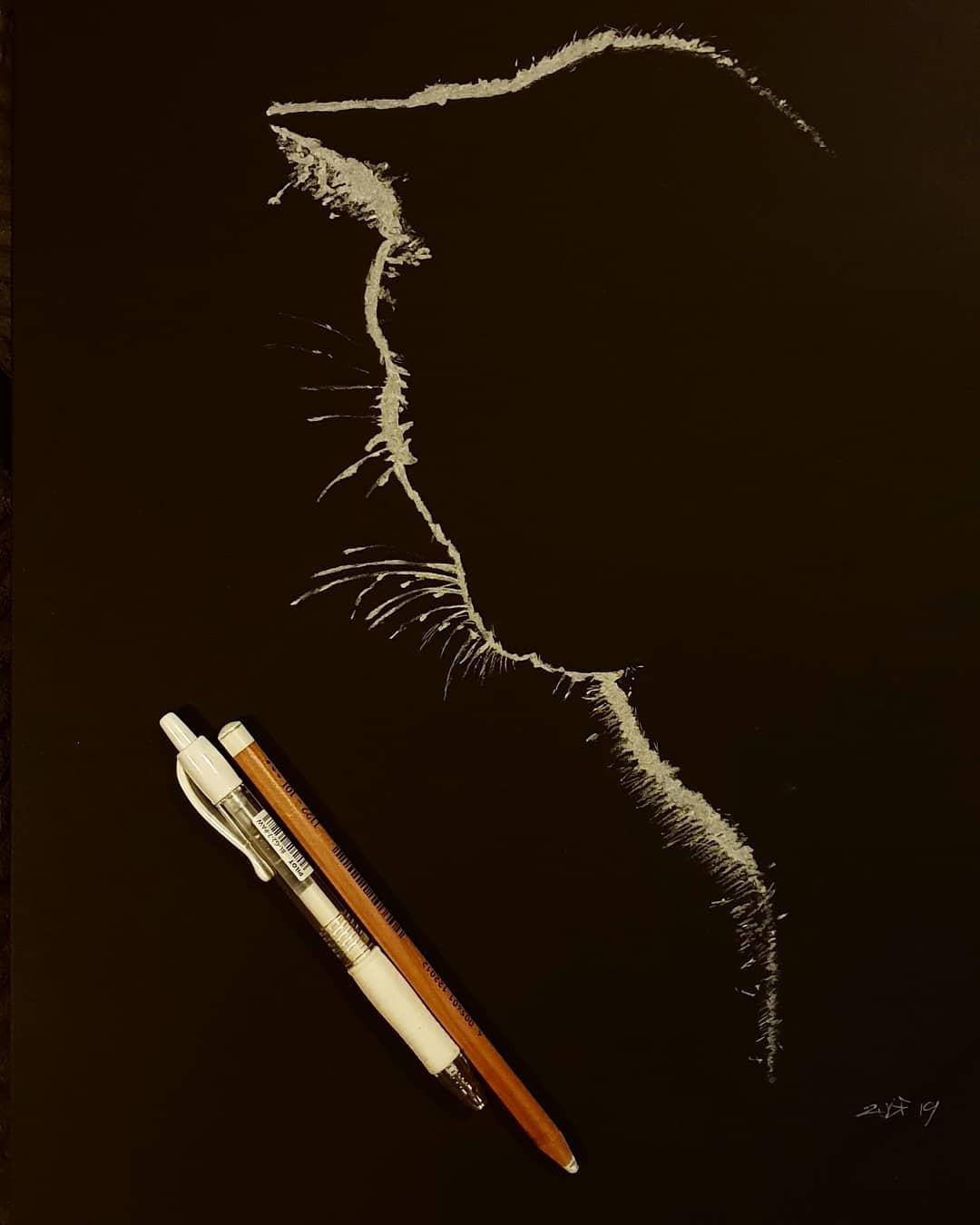 Серия рисунков «Из темноты». Автор Зульф (7)