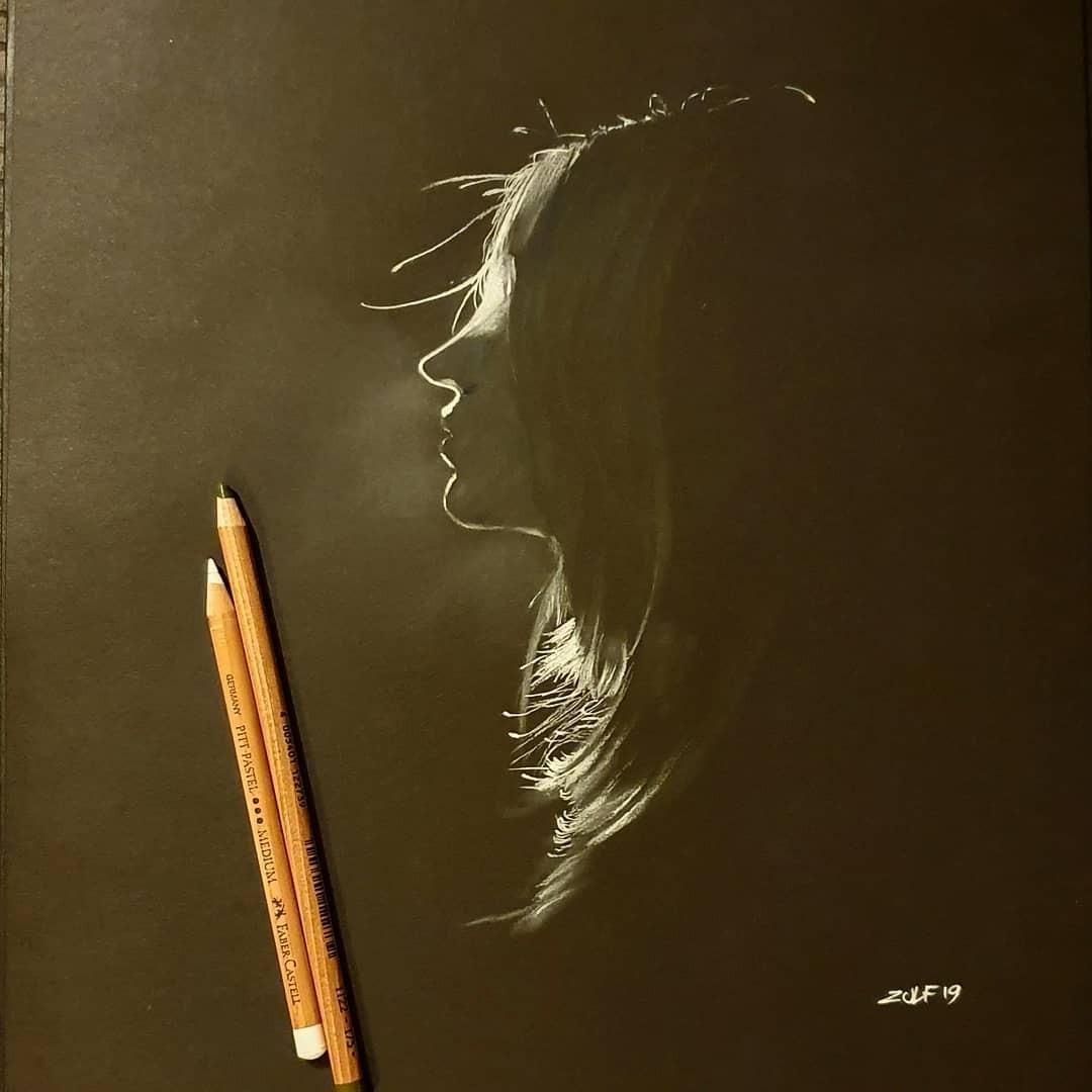 Серия рисунков «Из темноты». Автор Зульф (8)