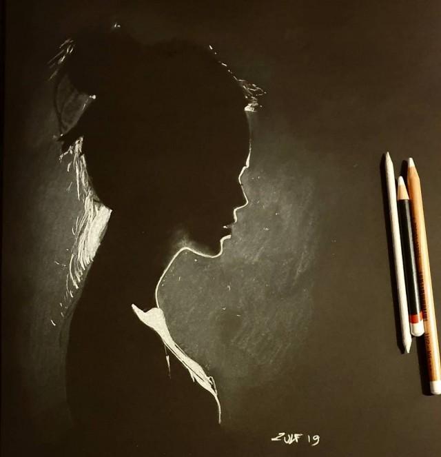 Серия рисунков «Из темноты». Автор Зульф (9)