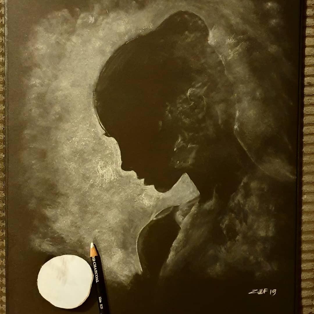 Серия рисунков «Из темноты». Автор Зульф (10)