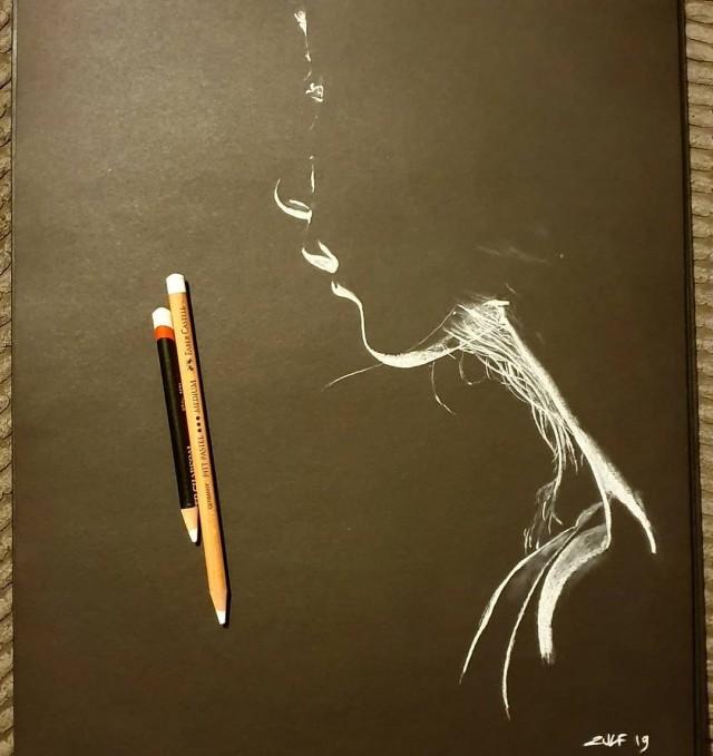 Серия рисунков «Из темноты». Автор Зульф (11)