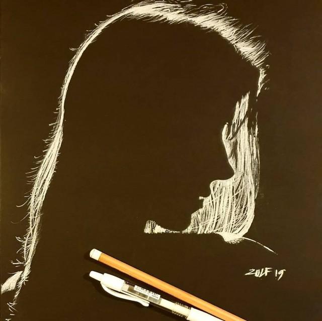 Серия рисунков «Из темноты». Автор Зульф (4)