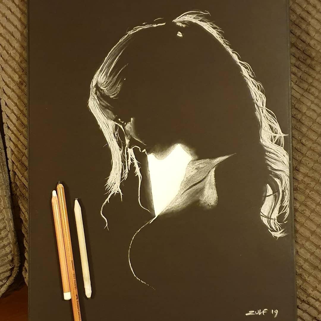 Серия рисунков «Из темноты». Автор Зульф (3)