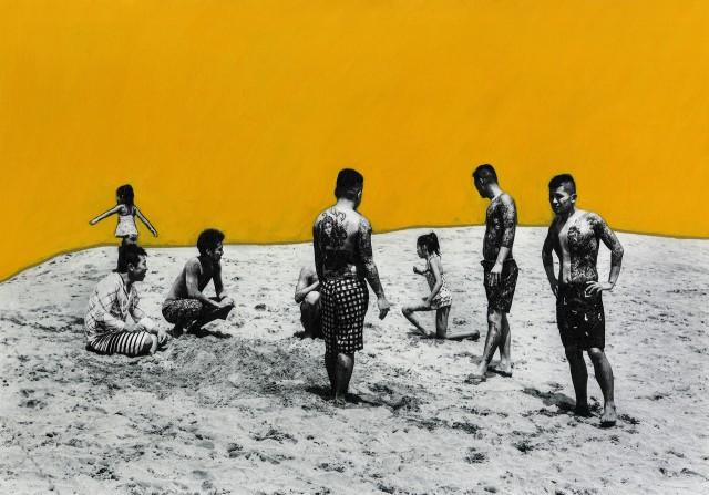 Тыл якудза в фотопроекте «Я отдаю тебе свою жизнь». Автор Хлоя Жафе (16)
