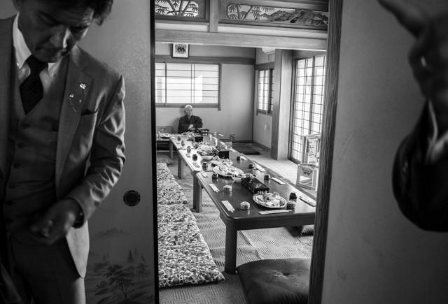 Тыл якудза в фотопроекте «Я отдаю тебе свою жизнь». Автор Хлоя Жафе (24)