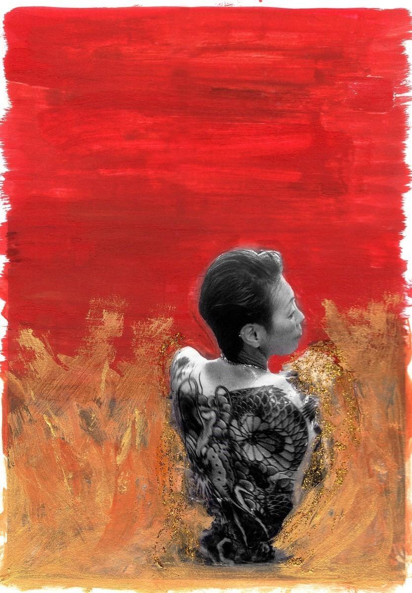 Тыл якудза в фотопроекте «Я отдаю тебе свою жизнь». Автор Хлоя Жафе (15)
