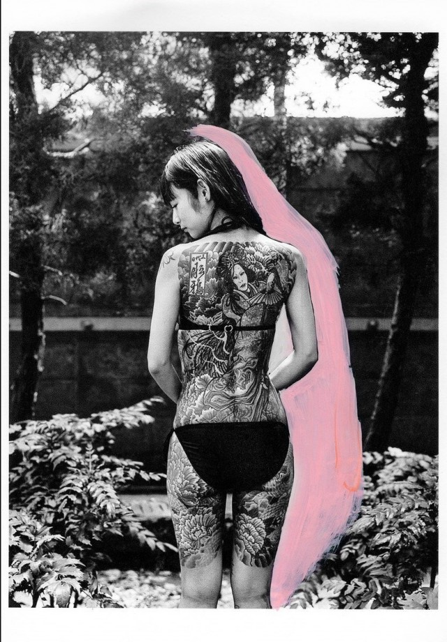 Тыл якудза в фотопроекте «Я отдаю тебе свою жизнь». Автор Хлоя Жафе (8)