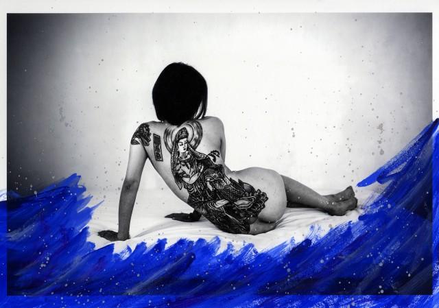 Тыл якудза в фотопроекте «Я отдаю тебе свою жизнь». Автор Хлоя Жафе