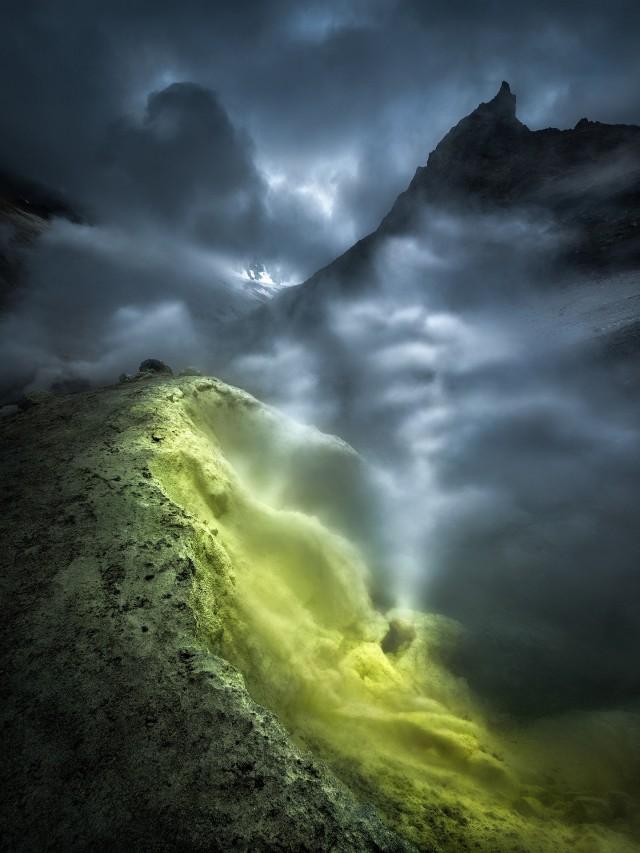 Путь в бездну земли, Камчатка. Автор Изабелла Табаччи