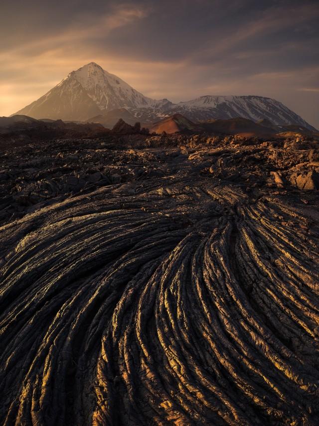 Спираль времени, Камчатка. Автор Изабелла Табаччи
